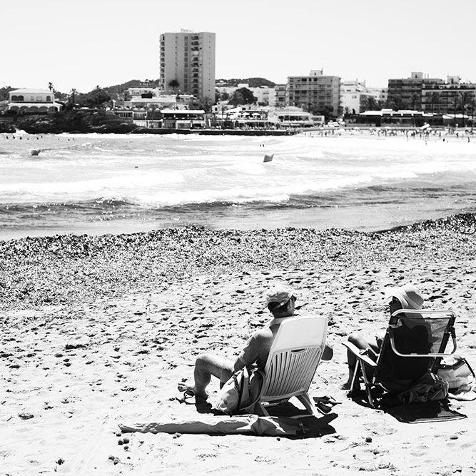 Beach Walk in Xabià, Spain.