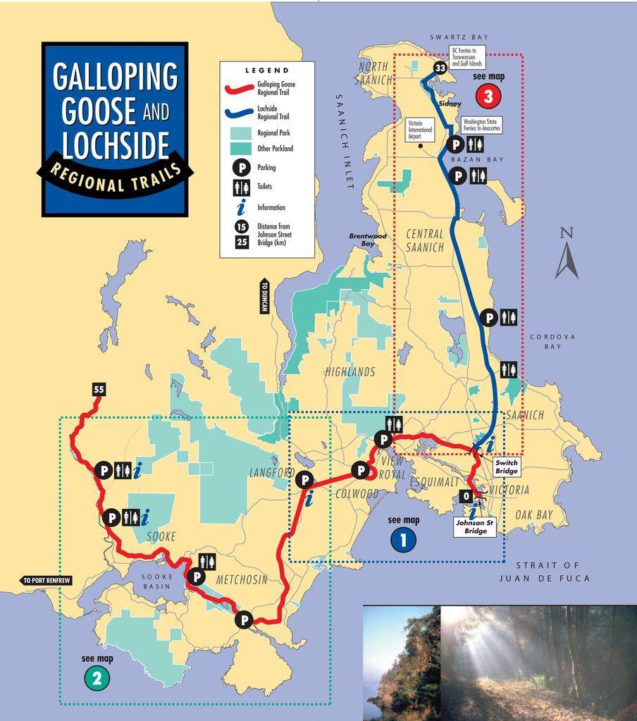 Galloping Goose Trail Met Afbeeldingen