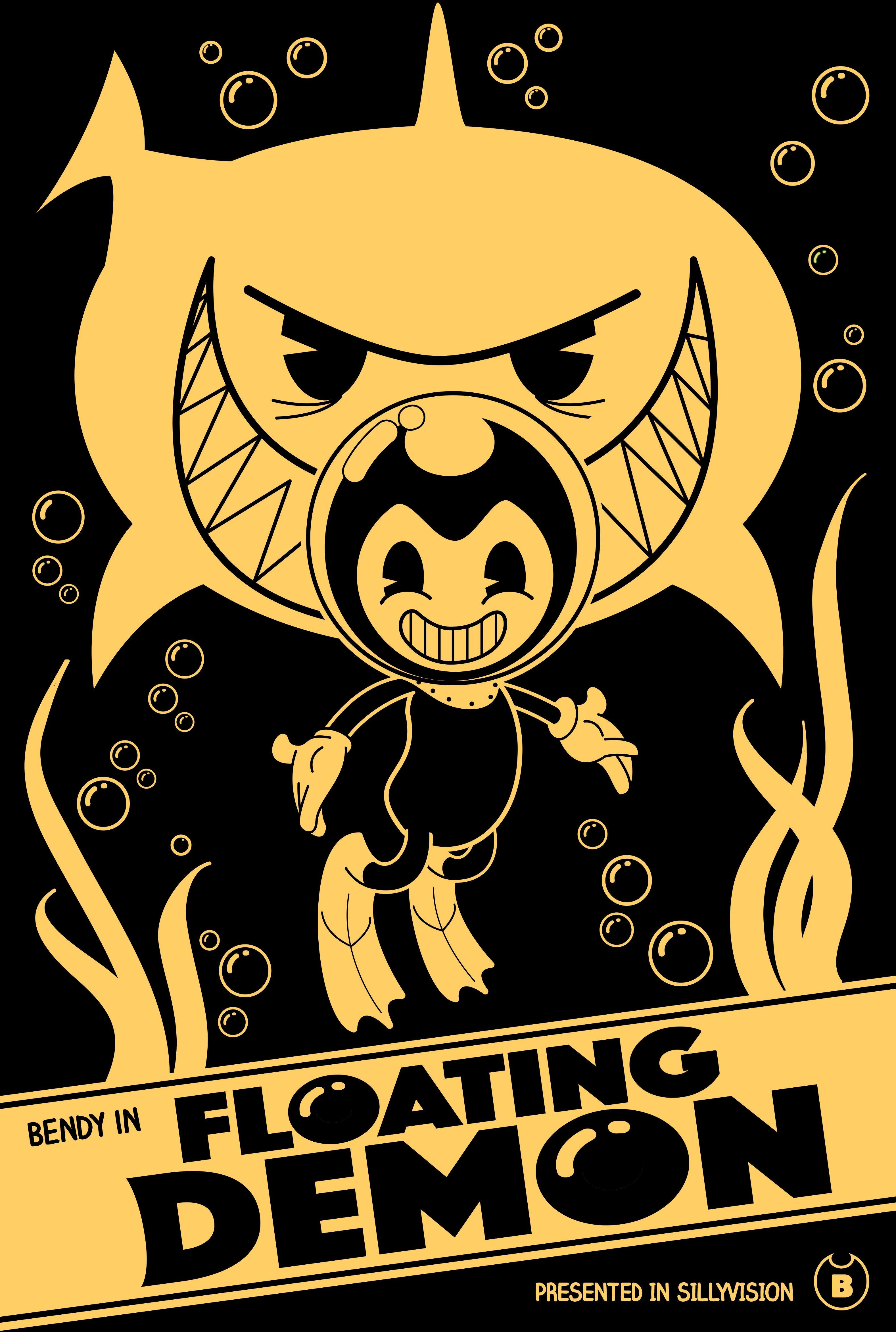 BENDY AND THE INK MACHINE WINNING POSTER