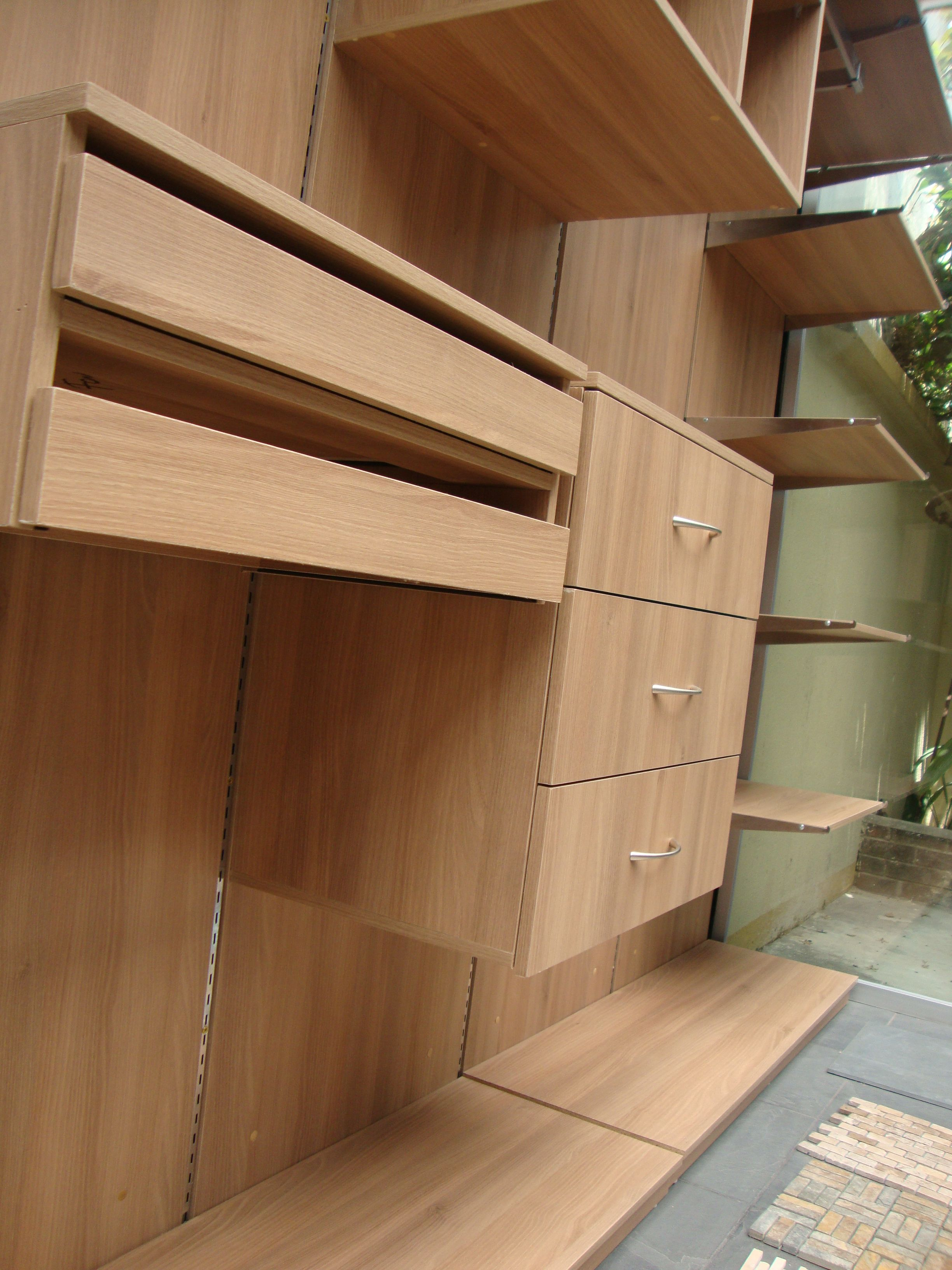 Closet suspendido. Melamina Arcacia. | Muebles | Pinterest
