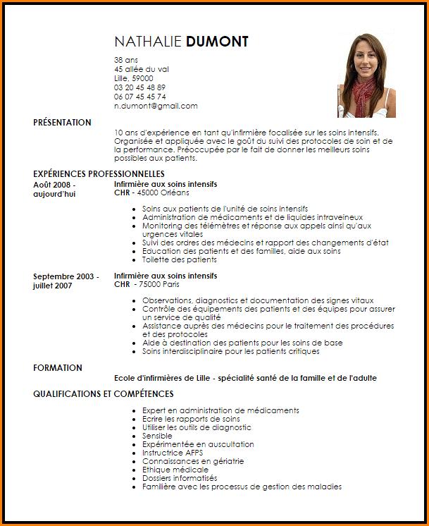 10 Cv Infirmier Jeune Diplome Gouvernoratmaniema Cv Infirmier Jeune Diplome Modele Cv