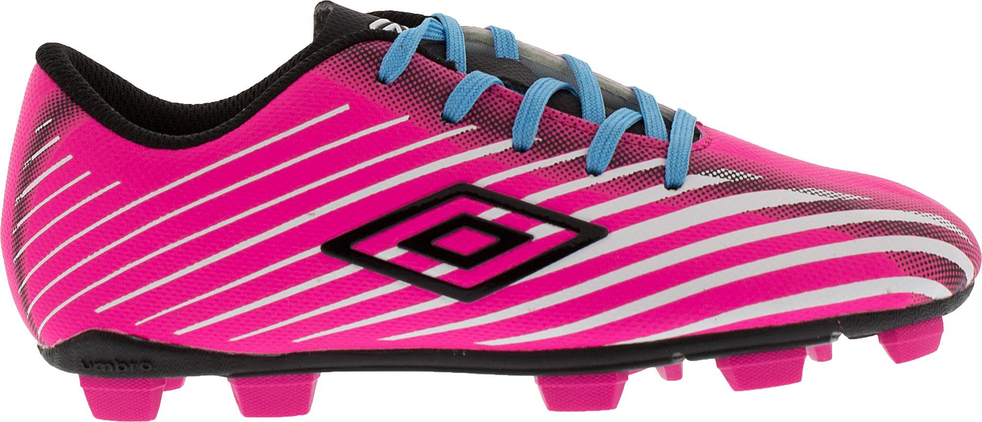 26112b683da2b Umbro Kids' Arturo 2.0 FG Soccer Cleats, Girl's, Size: 2.5, Pink ...