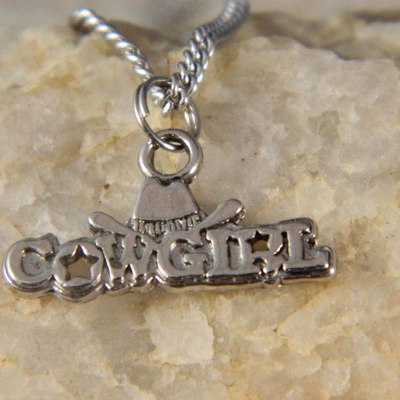 Cowgirl Necklace by WireNWhimsy on Etsy