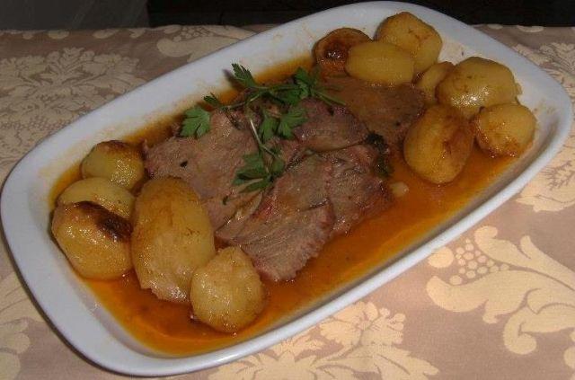 Longe De Porc Roti Au Four French Recipes Receitas Francesas