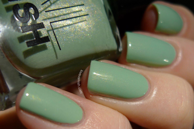 HM Mint2Be mint nail polish | Nails, nails, nails!!! | Pinterest