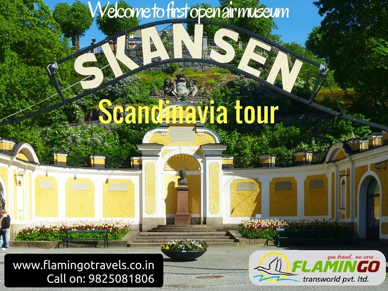 Established in 1891, Skansen is the very first open air