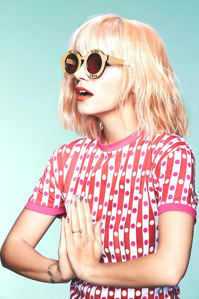 Is Lily Allen turning into Taylor Swift as she models new