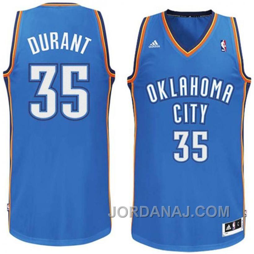 44ada0f76a2a Kevin Durant Oklahoma City Thunder adidas Swingman Road Jersey - Light Blue  Nba Kevin Durant