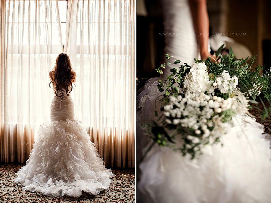 Bride Wedding Dress Jessica & Albert :: {Bend Oregon Pronghorn Golf ...