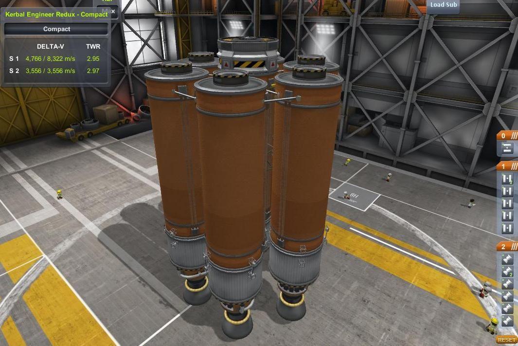 Basic orange tank launcher