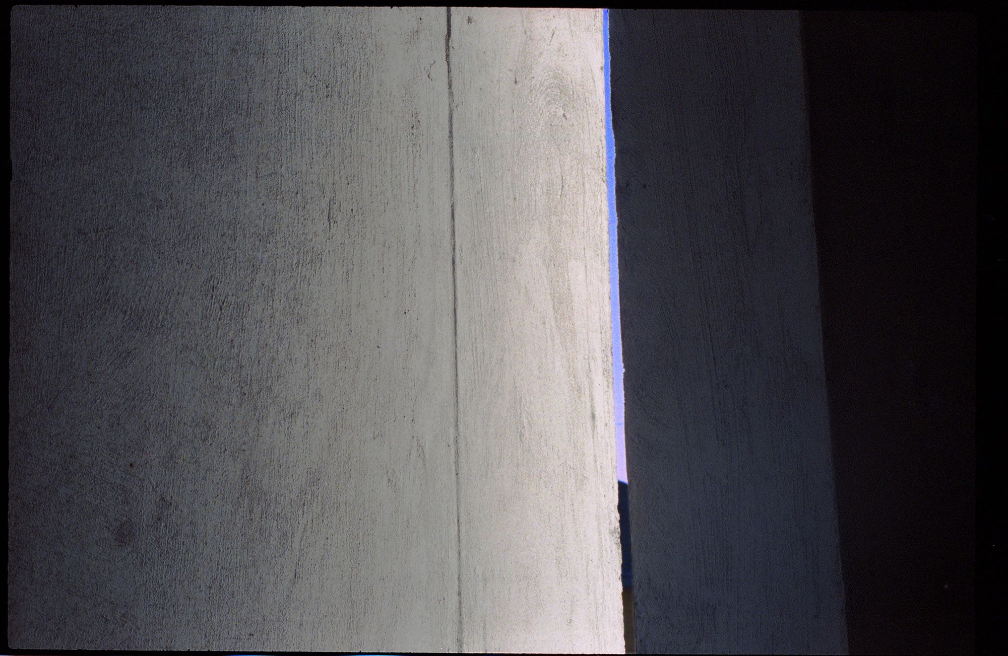 'Sky through concrete' #analoguephotography #filmphotography #kodakporta #zenithcameras #analogueimageltd