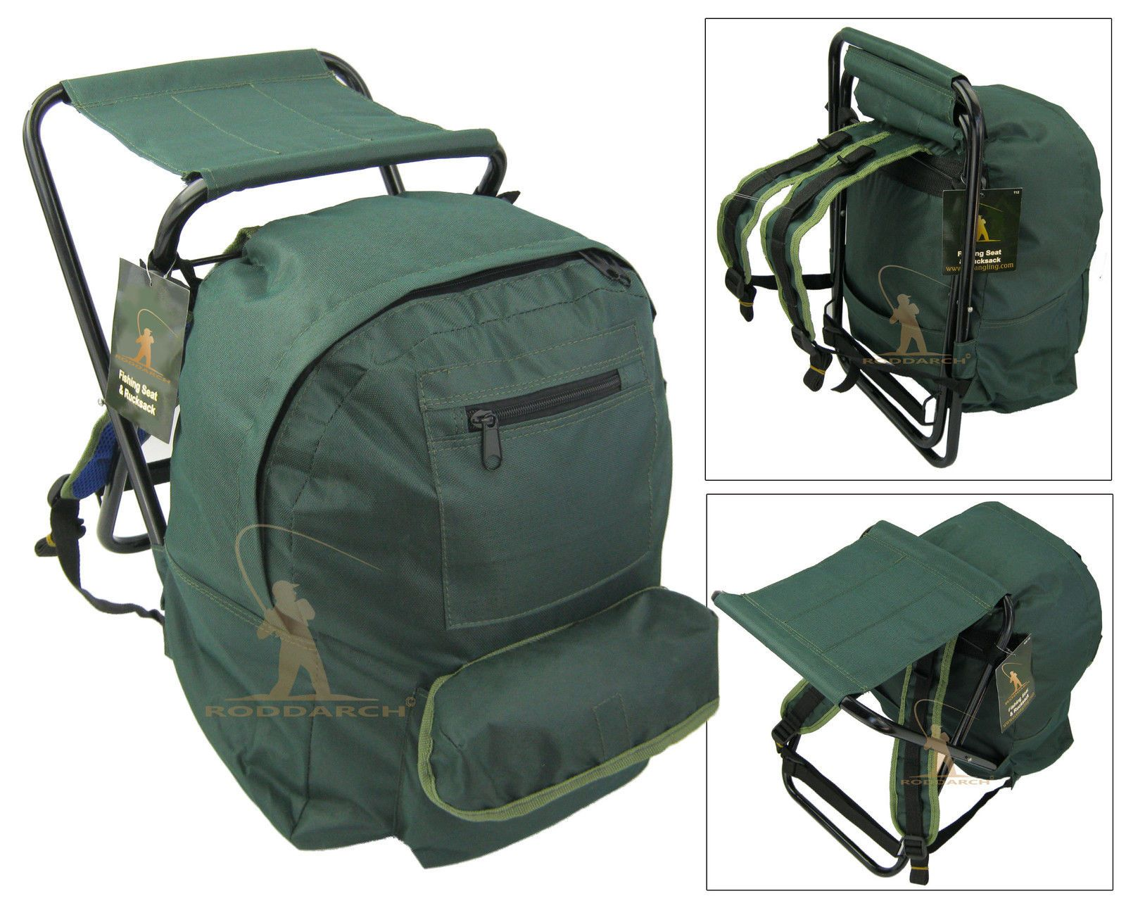 Backpack fishing chair - Fishing Tackle Seat Bag Backpack Rucksack Camping Stool Seat Box Tackle Box Ba