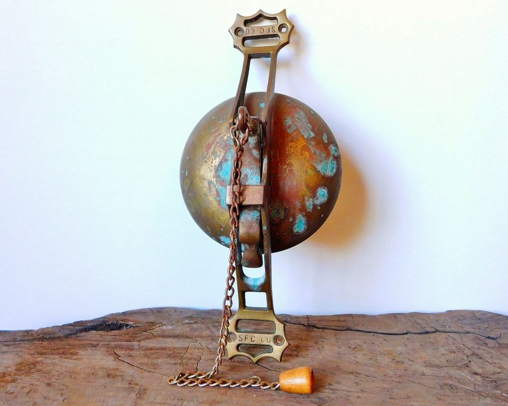 San Francisco Cable Car Bell, Solid Brass Bell, 1950s Repro, Trolley ...
