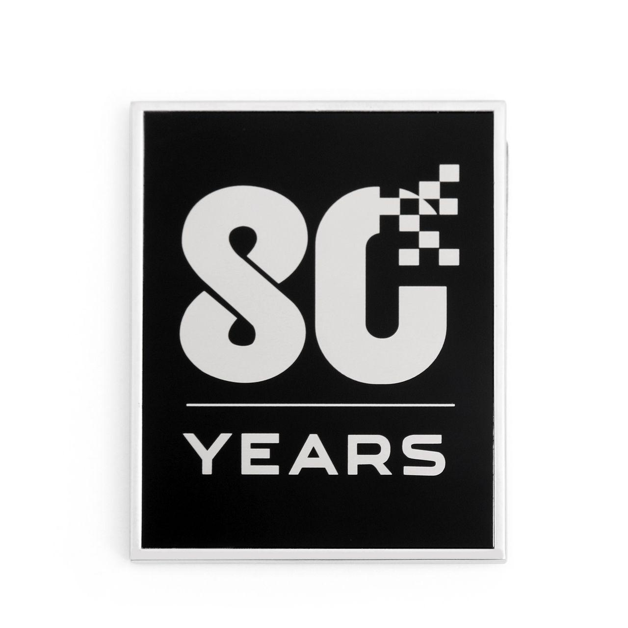 Mad 3D Metal 80 Years Anniversary Emblem Badge