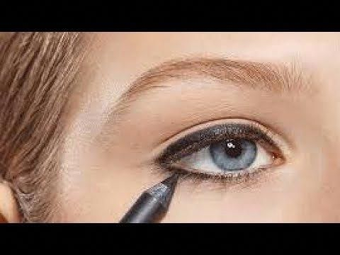 natural  dramatic smokey eyes makeup tutorial for