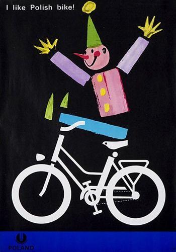 Witold Janowski, I like Polish bike!, 1974