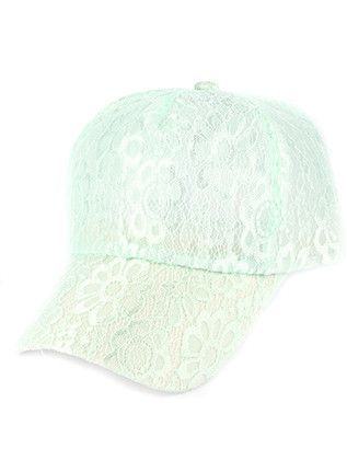 Lace Cap Mint Green