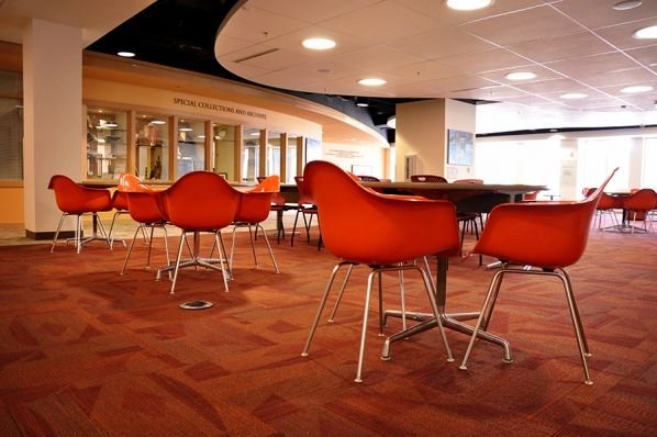 Eames Molded Plastic Chairs At Denver University