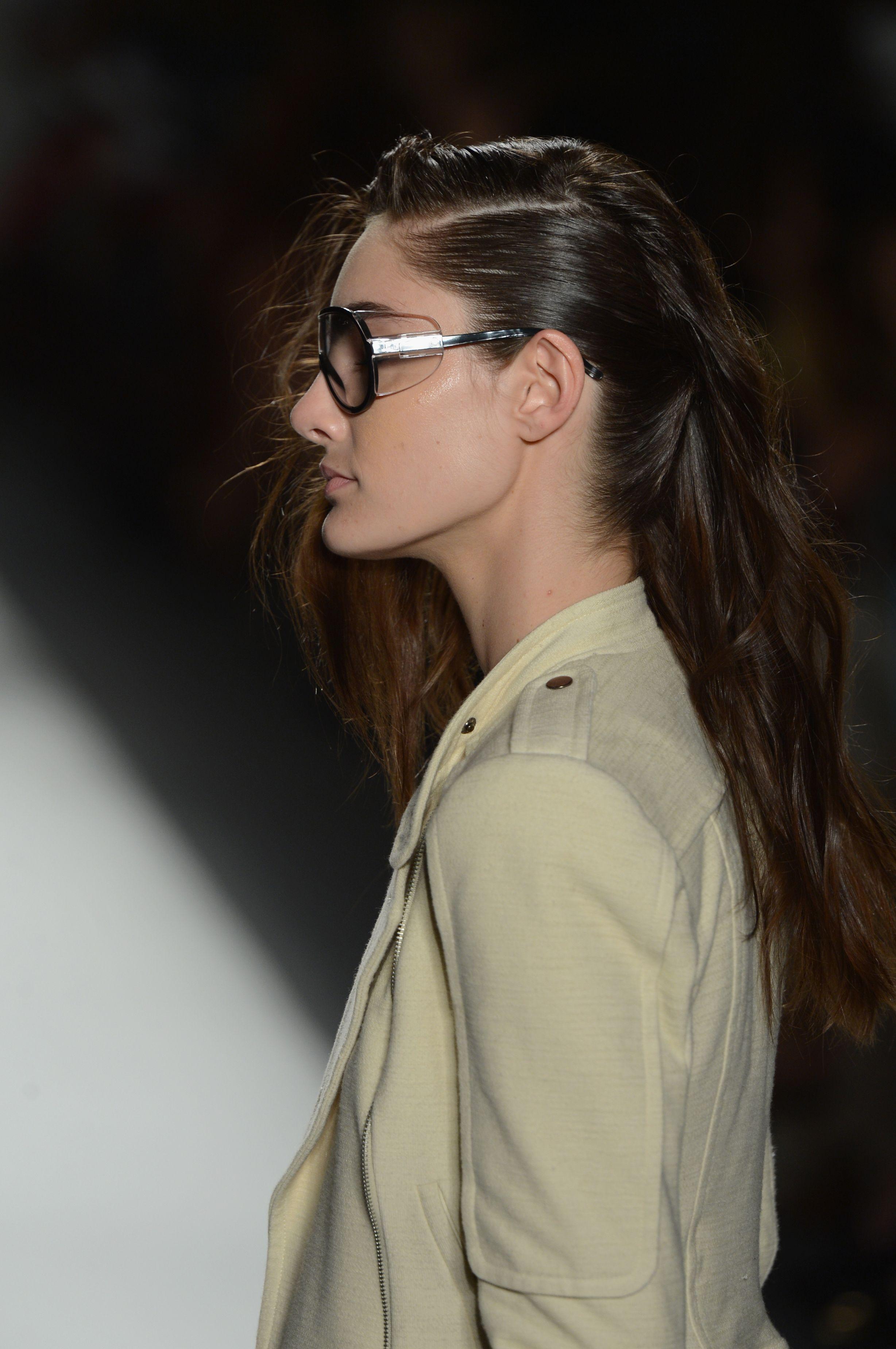 Tracy Reese Spring 2013 Show, Hair by TRESemme #tracyreese #spring2013 #tresemme #tresmbfw @Mercedes-Benz Fashion Week #mbfw #fashionweek #fashion #models #nyc #newyork #designer