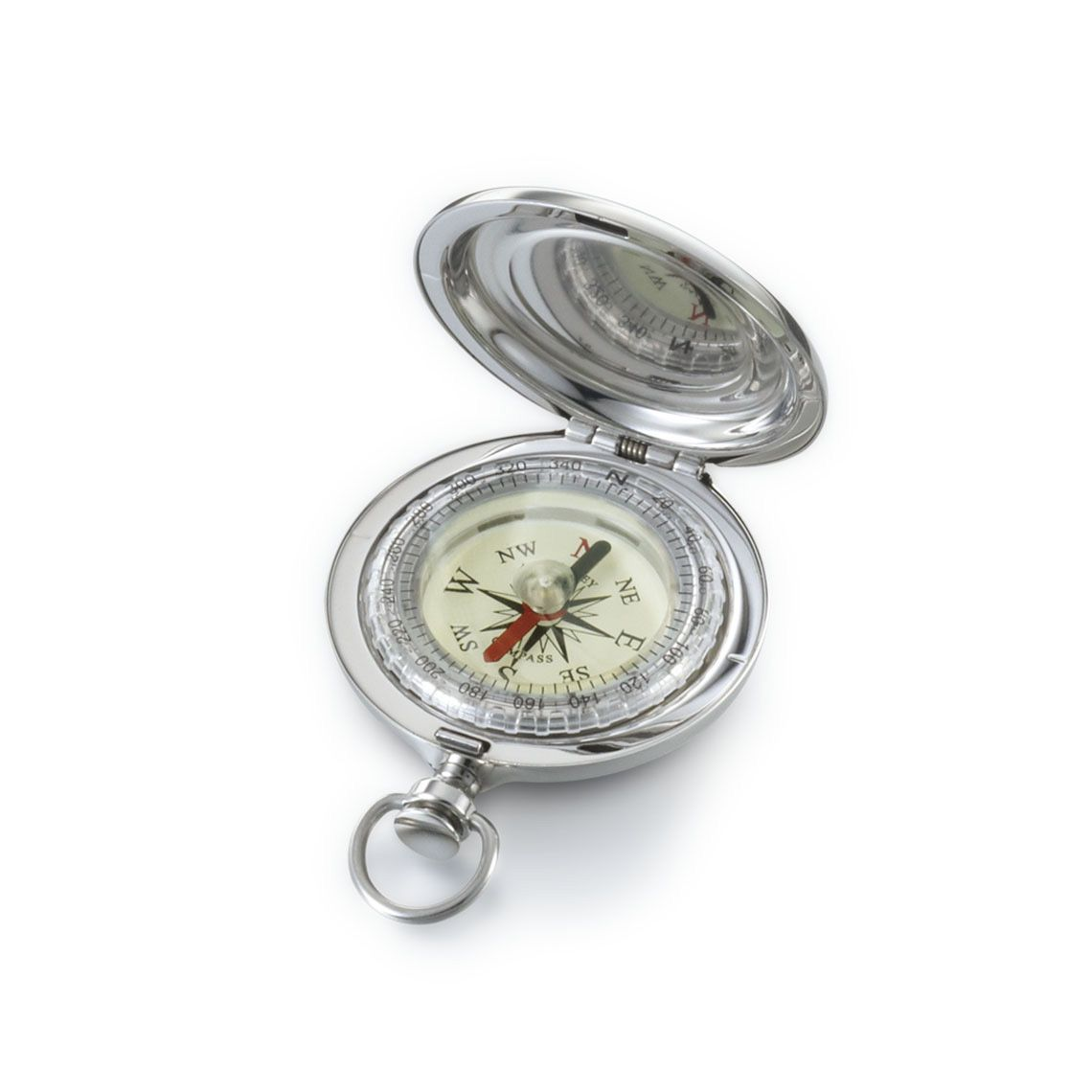 Explorer Compass Compact Stainless Steel Detail | Dalvey