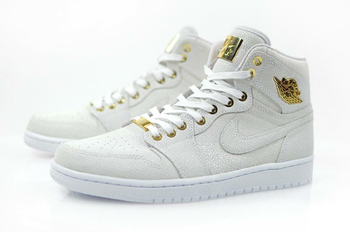 Nike Air Jordan 1  Pinnacle  White 24k Gold  0837260bc843