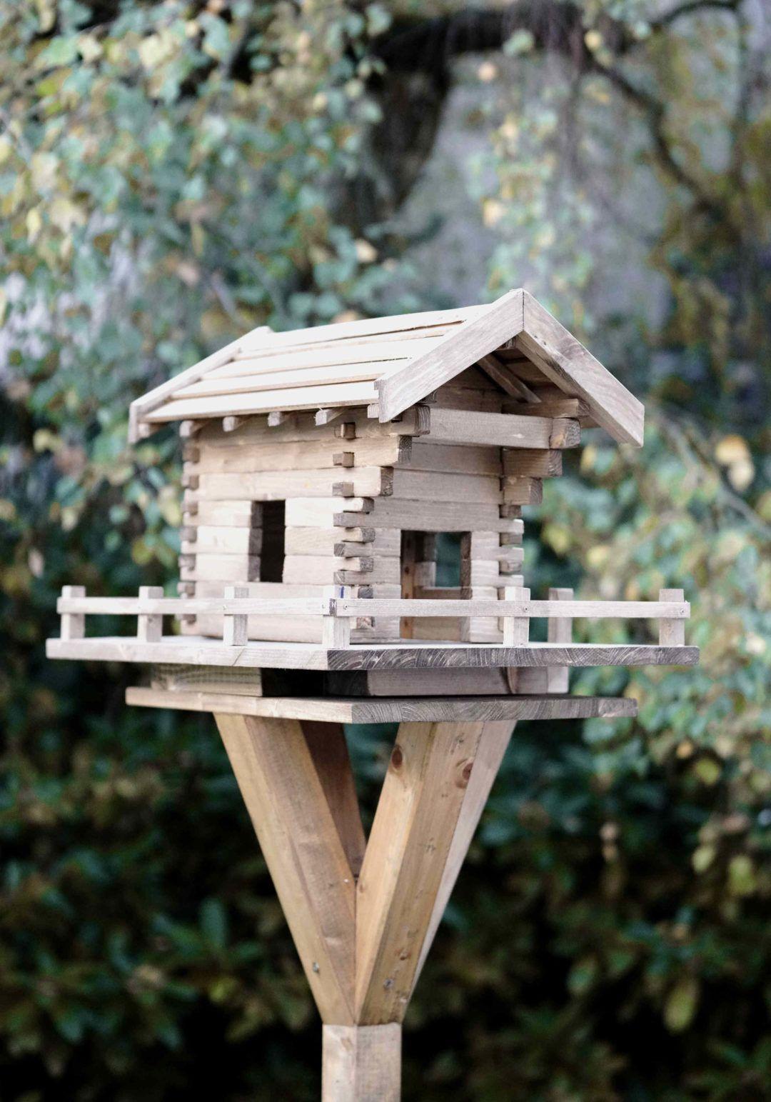 vogelhaus selber bauen - in 13 schritten zum fertigen