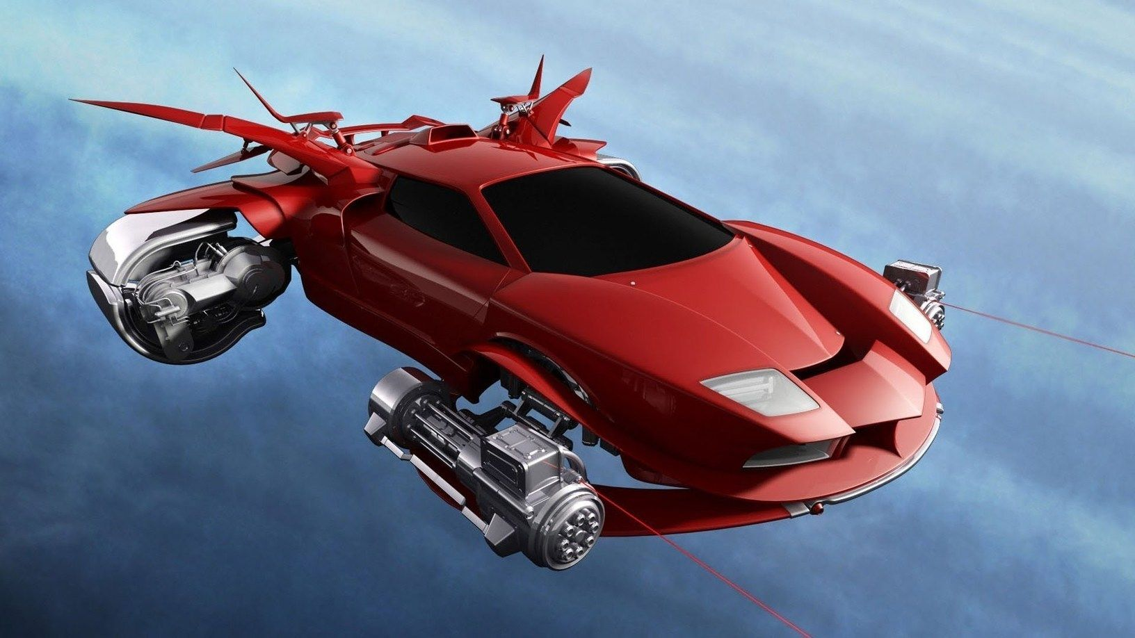 """Takeoff and cruise Toyota making """"flying car,"""" luxury"""