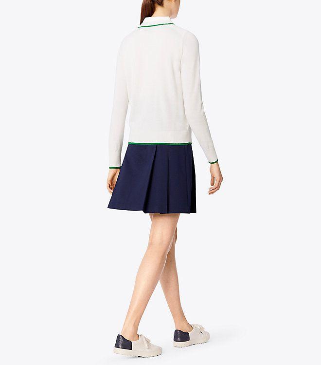 0562da95e7 Tory Sport Tech Twill Golf Skirt : Women's New Arrivals | Tory Sport ...