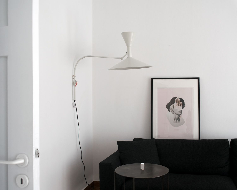 lampe de marseille le corbusier at bombyx showroom photo fotini masika details. Black Bedroom Furniture Sets. Home Design Ideas