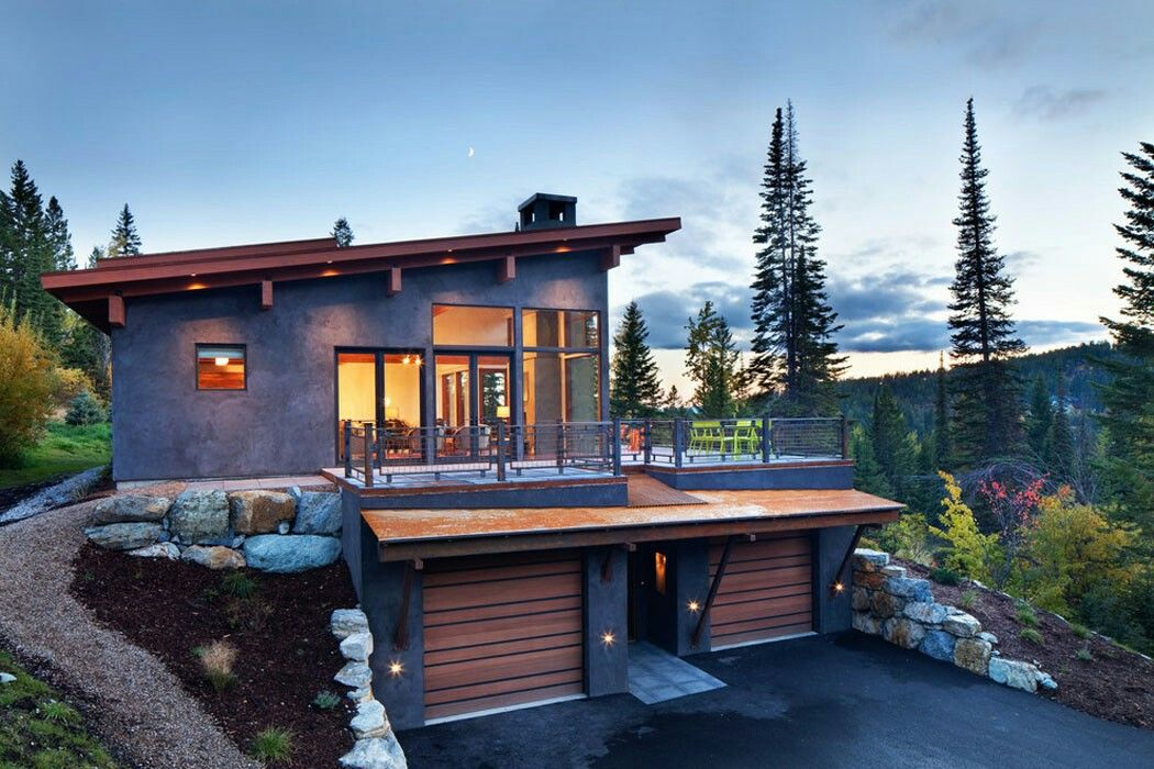 Pin By Franco On Garage Apartment Plans Modern Mountain Home Carriage House Plans Contemporary Cabin