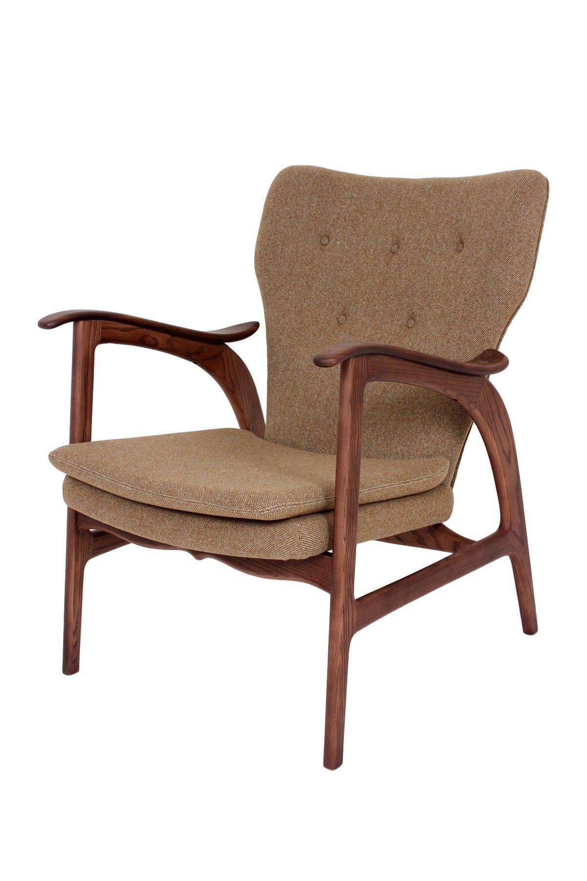 Control Brand Franz Brown Chair Modern Style Furniture Brown Chair Mid Century Style Furniture