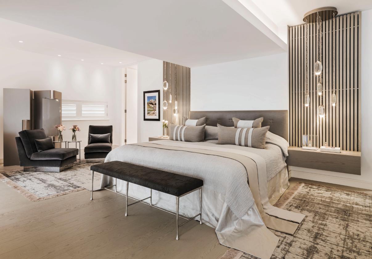 British Designer Kelly Hoppen At Home In London