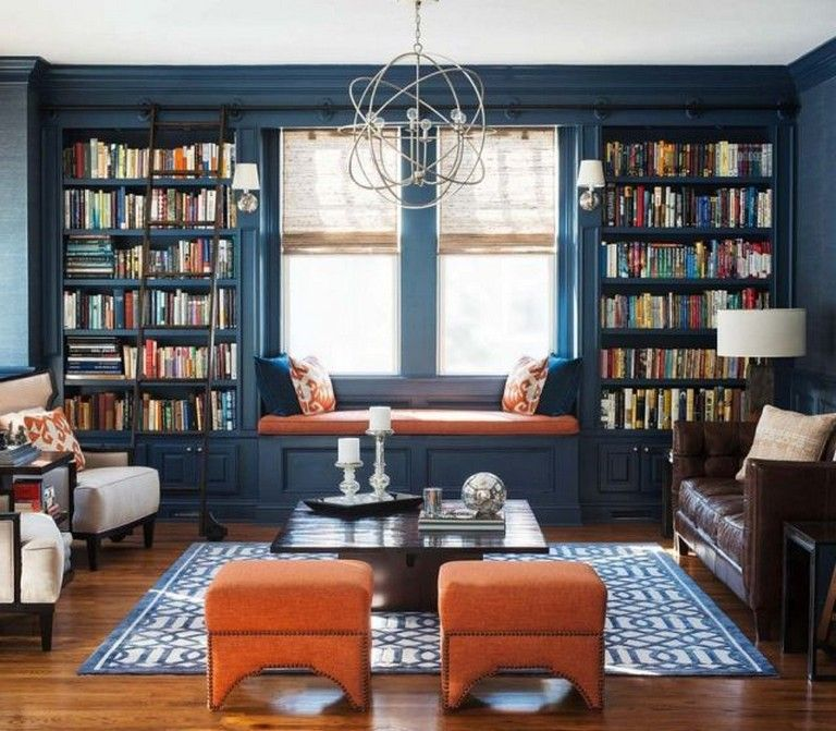 Stunning Home Library Ideas Hoomcode Home Library Decor Home Library Design Home