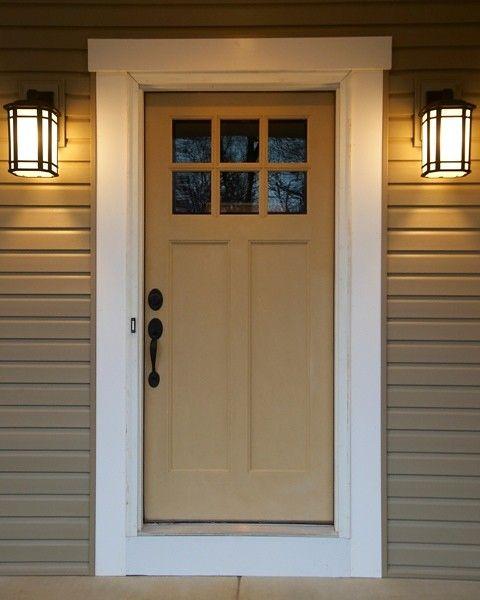 Pin By Rita Strutz On Patio Door Craftsman Front Doors Craftsman Style Front Doors Craftsman Style Doors