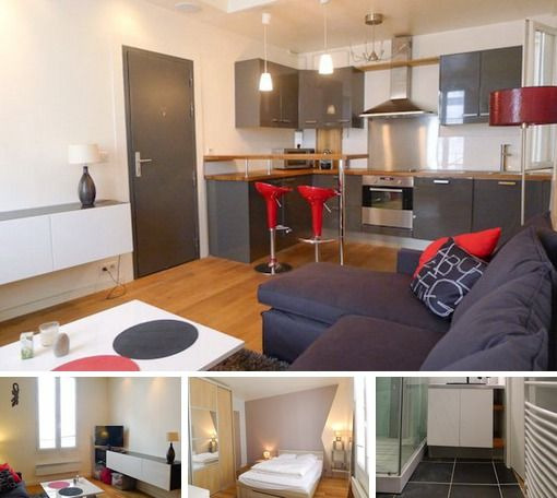 1 Bedroom Furnished Apartment Rent Paris Rue Meslay