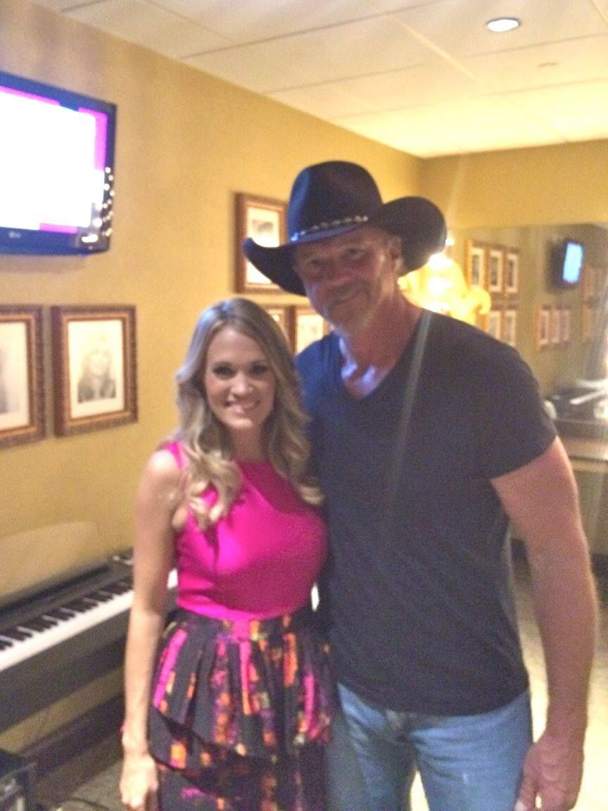 Trace adkins and carrie underwood grand ole opry pinterest carrie trace adkins and carrie underwood kristyandbryce Choice Image