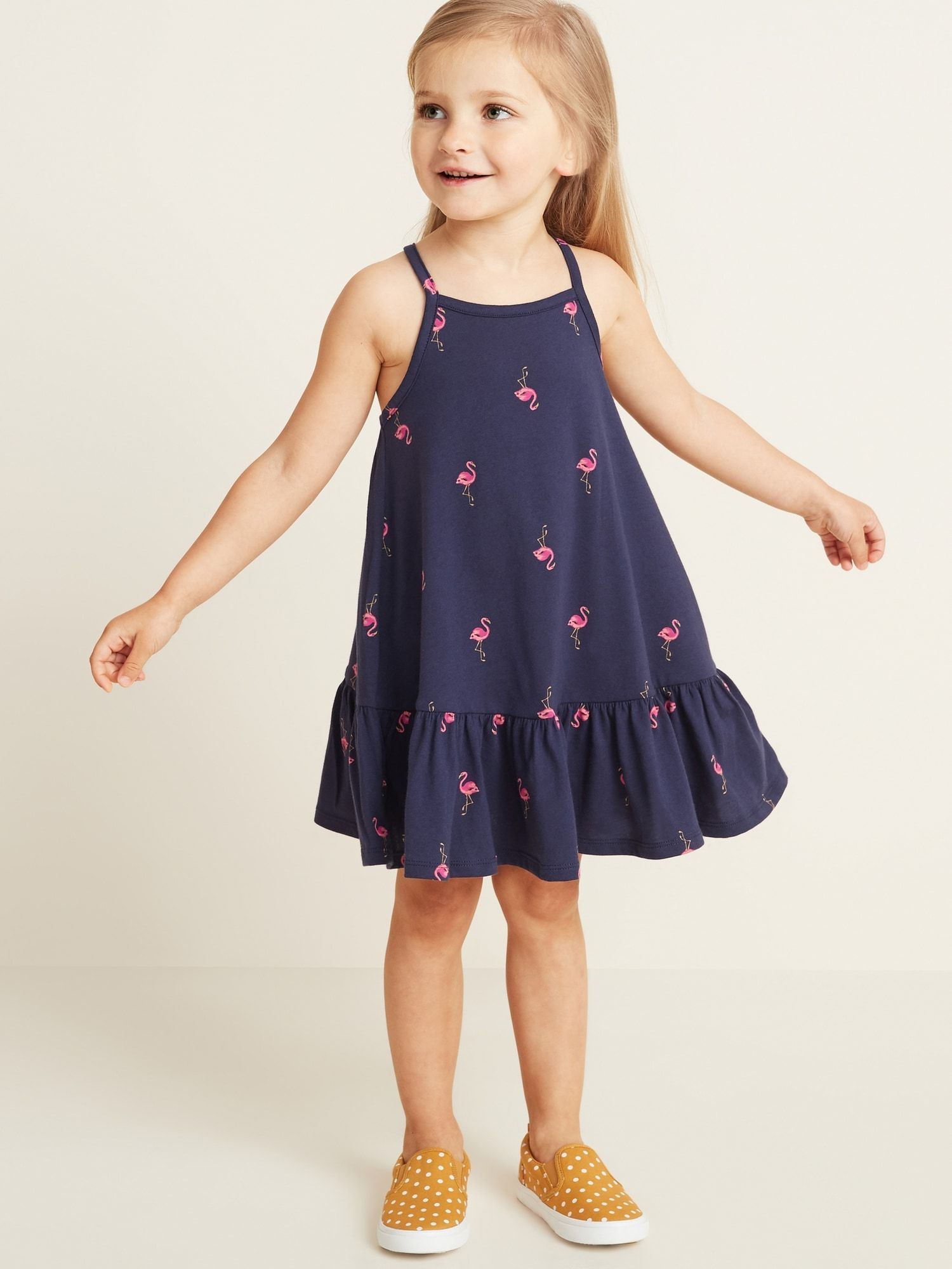 063fc7b5a5 Sleeveless Tiered Swing Dress for Toddler Girls | tiny humans ...