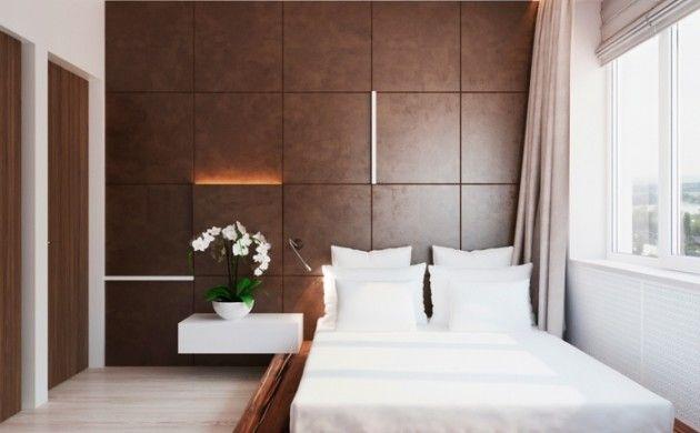 einrichtungsideen schlafzimmer einrichten nachttisch blumen cole - Schlafzimmer Rustikal Einrichten