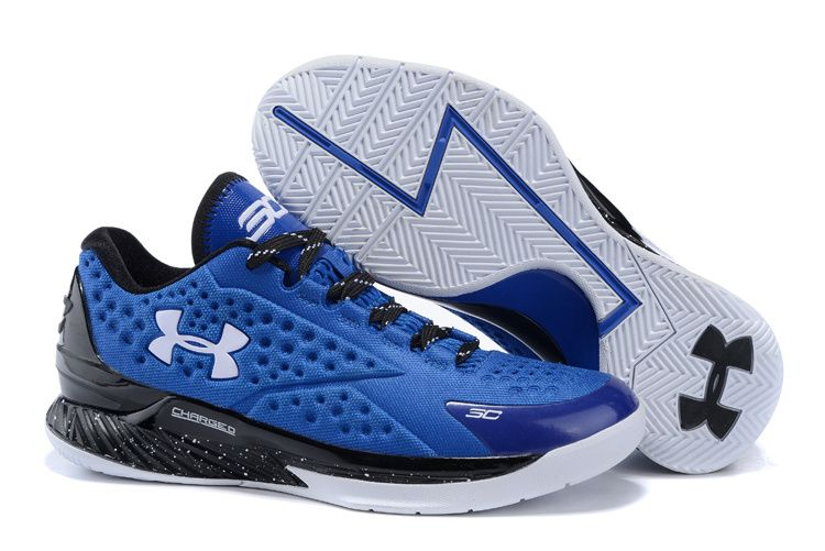 80afe1653515 Under Armour Curry One Low Elite 24 Red Royal Blue White ...