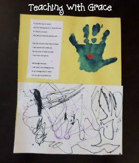 Teaching with Grace: Soothe Their Little Hearts: First Day of School Activity