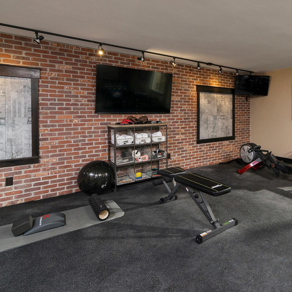Home Gym Design Ideas Basement: Home Gym Design #homegymgarage In 2020