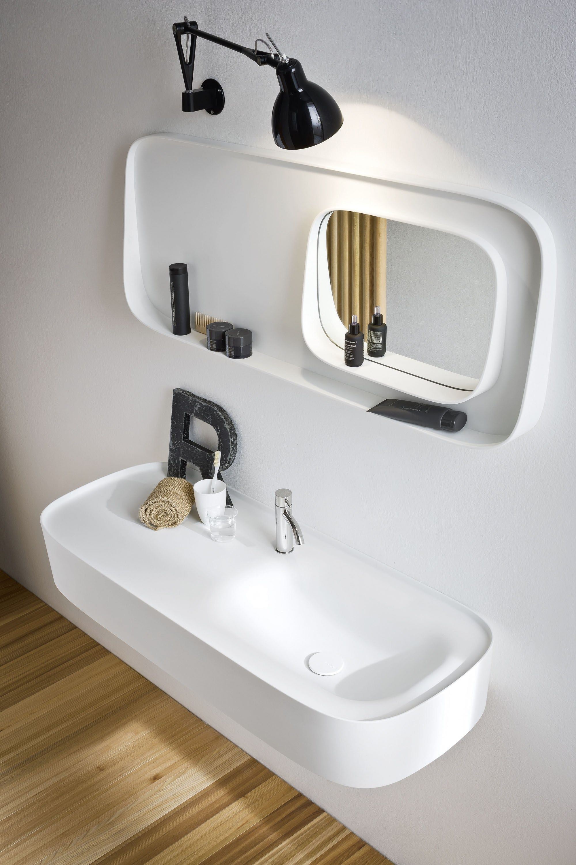 Mirror Design For Bathroom Mesmerizing Bathroom Mirror Fonte  Bathroom Mirror  Rexa Design  Cool Design Ideas