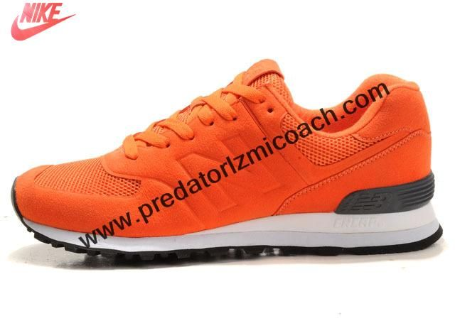 New New Balance NB MS574DGO Sonic Orange Grey For Men shoes