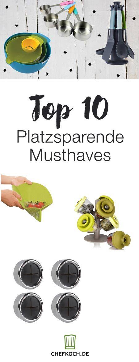 Top 10 platzsparende Küchenhelfer