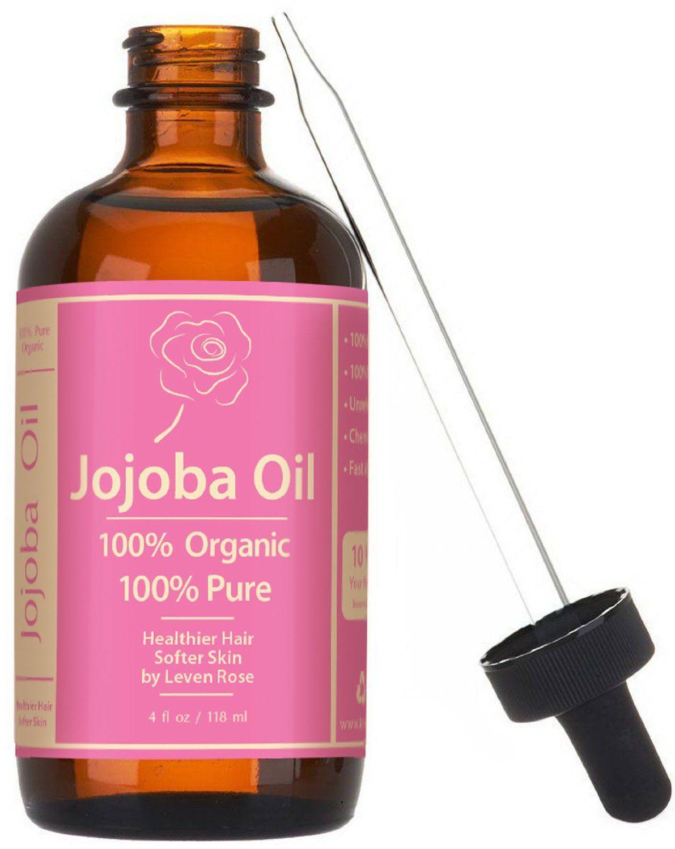 Jojoba Oil, Organic, 100 Pure Cold Pressed