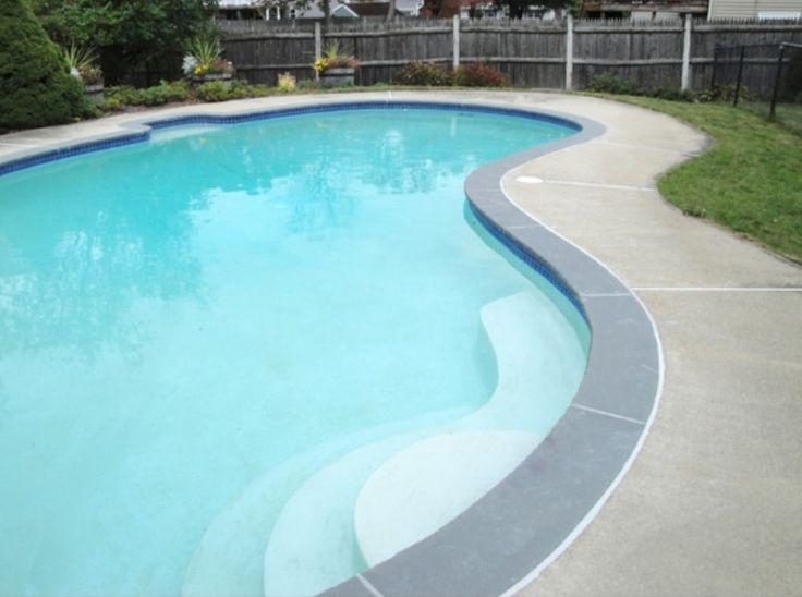 Pool Bullnose Tile Google Search Pool In 2019 Concrete Pool Pool Coping Decks
