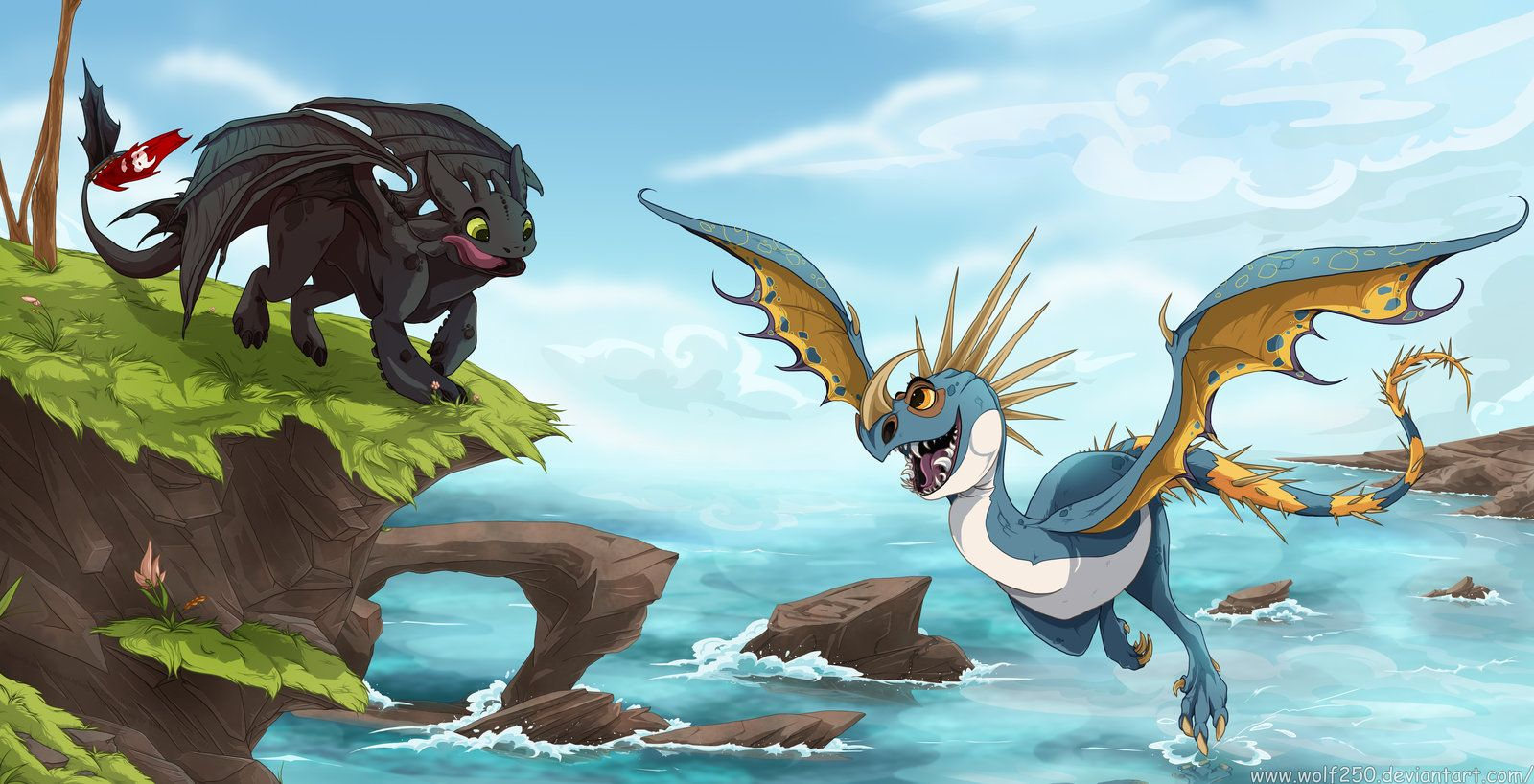 How to train your dragon where no one goes by wolf250 how to train your dragon where no one goes by wolf250iantart ccuart Images