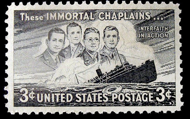 Image result for four chaplains stamp