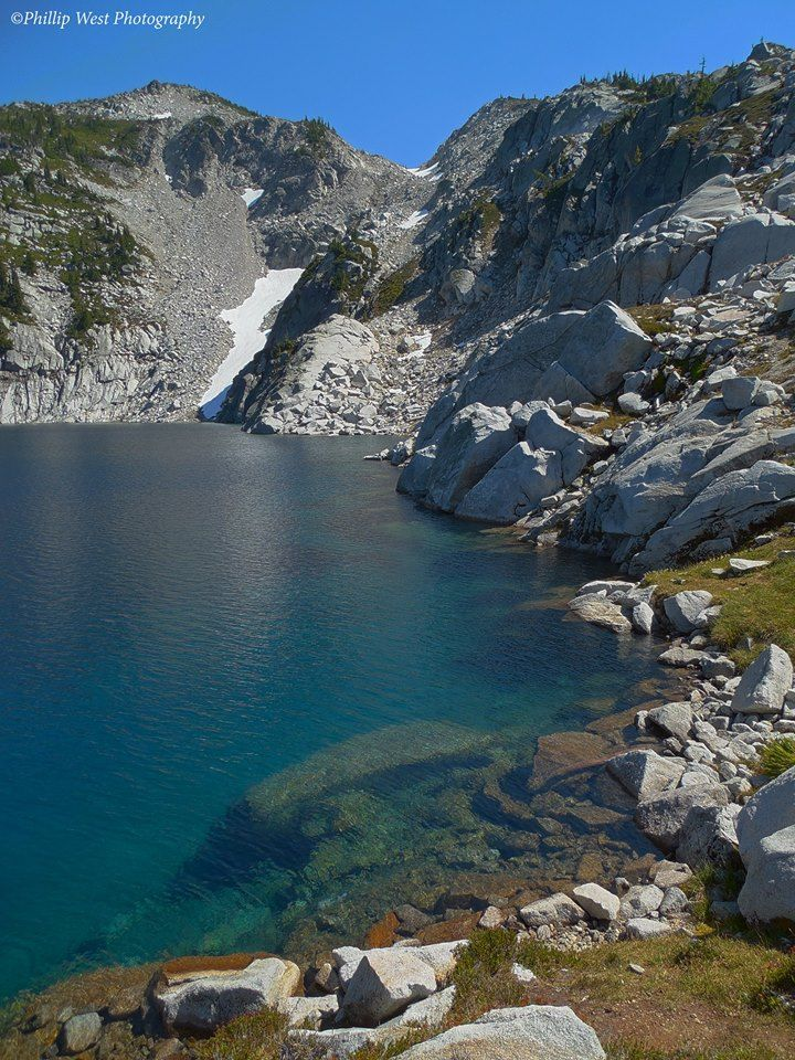 upper robin lake and granite mountain alpine lakes wilderness wa