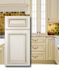 Holden Bronze Glaze Cabinets For The